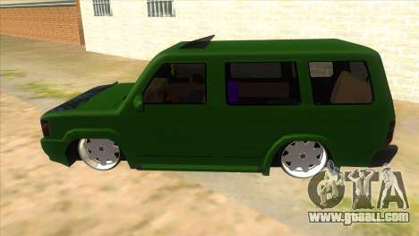 Toyota Kijang Grand Extra IKC for GTA San Andreas left view