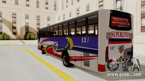 Superlines Ordinary Bus for GTA San Andreas left view