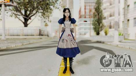 Alice Madness Returns for GTA San Andreas second screenshot