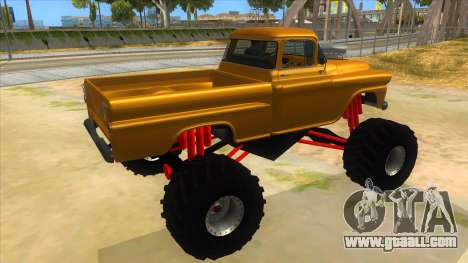 1958 Chevrolet Apache Monster Truck for GTA San Andreas right view