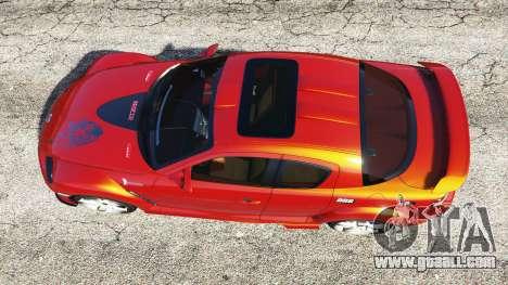 GTA 5 Mazda RX-8 2004 back view