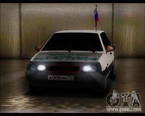 VAZ 2108 Military Classics for GTA San Andreas