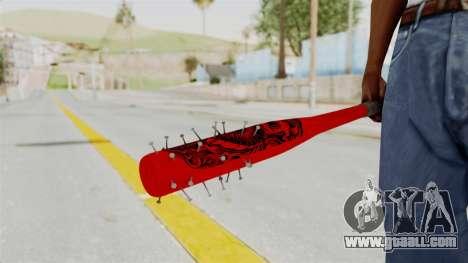 Nail Baseball Bat v2 for GTA San Andreas