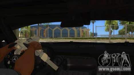 Mercedes Benz SLS AMG GT3 for GTA San Andreas bottom view