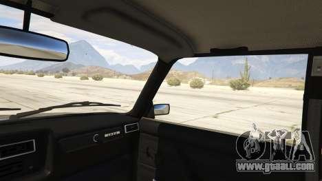 GTA 5 Lada 2107 rear right side view