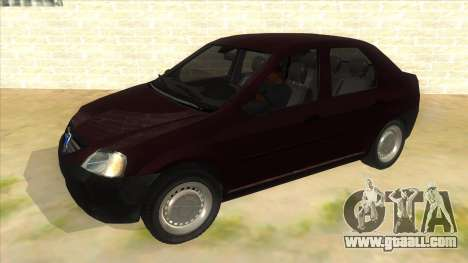 Dacia Logan V2 Final for GTA San Andreas