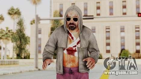 Kane And Lynch 2 - Lynch Hood Up for GTA San Andreas
