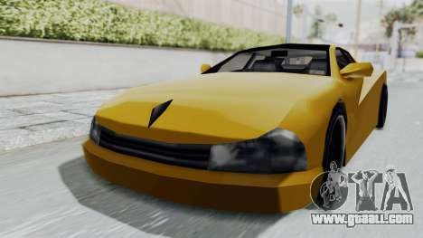Cheetah ZTR v1 for GTA San Andreas back left view