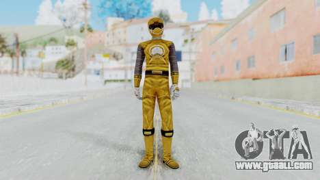 Power Rangers Ninja Storm - Yellow for GTA San Andreas second screenshot