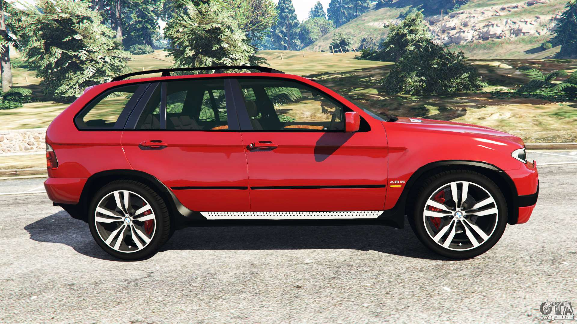Bmw X5 E53 2005 For Gta 5