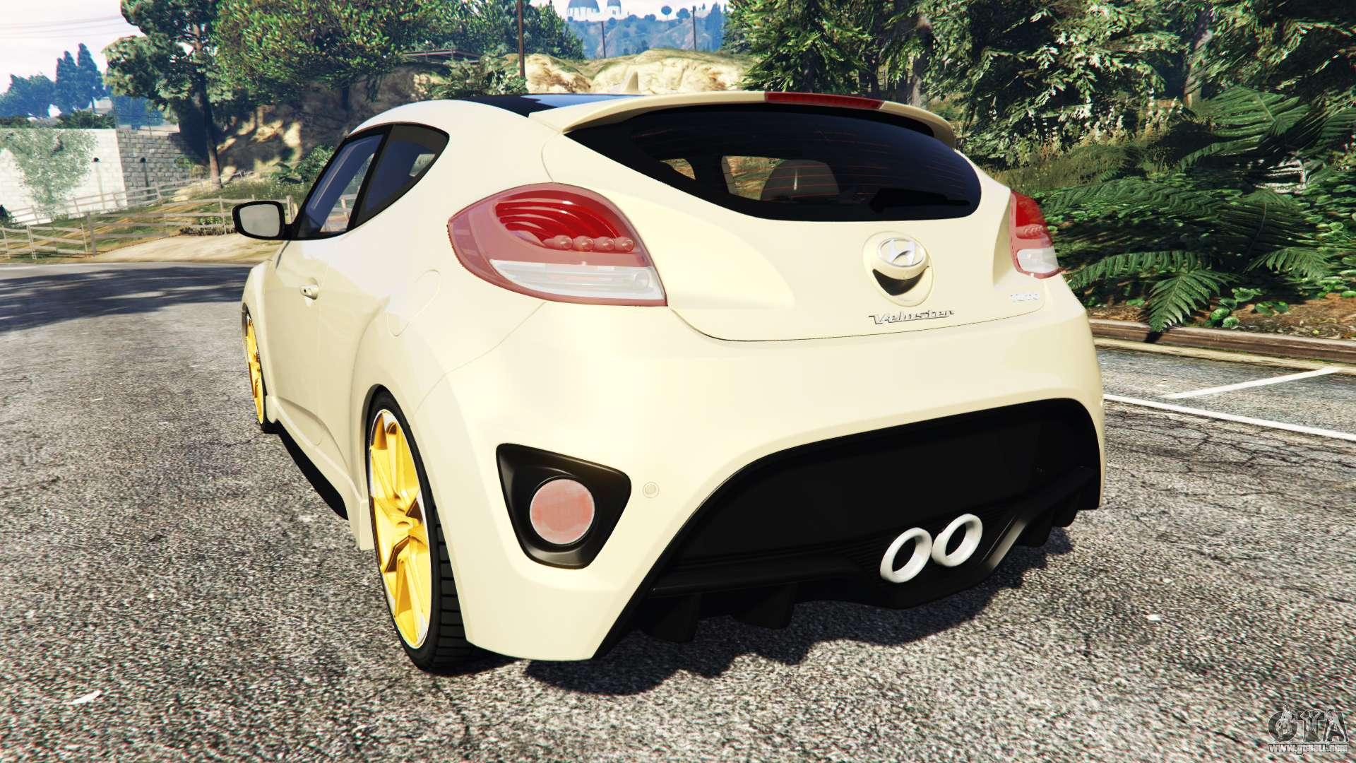 Hyundai Veloster Tires >> Hyundai Veloster Turbo for GTA 5