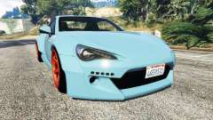 Toyota GT-86 Rocket Bunny v1.6 for GTA 5