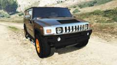 Hummer H2 2005 [tinted] v2.0 for GTA 5