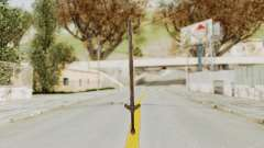 Skyrim Iron Long Sword for GTA San Andreas