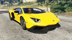 Lamborghini Aventador LP720-4 50th Anniversary for GTA 5
