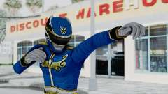 Power Rangers Megaforce - Blue for GTA San Andreas