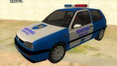 Volkswagen Golf 3 Police for GTA San Andreas