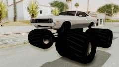 Dodge Challenger 1970 Monster Truck