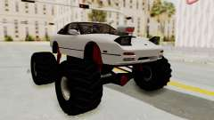 Nissan 240SX Monster Truck for GTA San Andreas