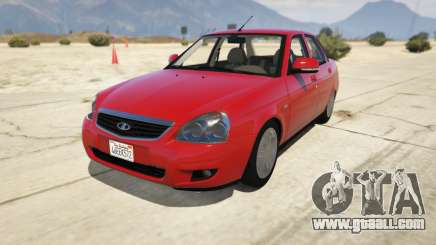 Lada Priora v.2.3 for GTA 5