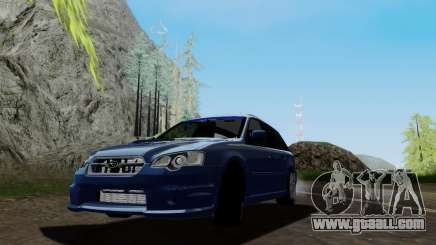 Subaru Legacy STi Wagon 2008 for GTA San Andreas
