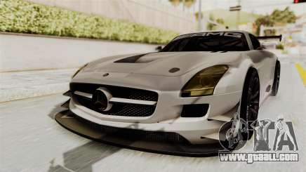 Mercedes-Benz SLS AMG GT3 PJ3 for GTA San Andreas