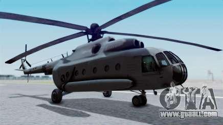 Mi-8 Croatian for GTA San Andreas