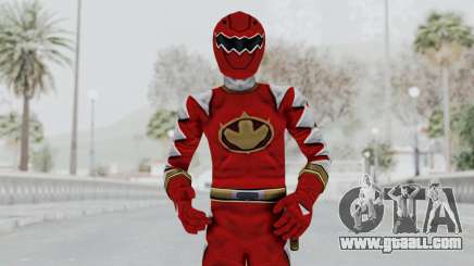 Power Rangers Dino Thunder - Red for GTA San Andreas