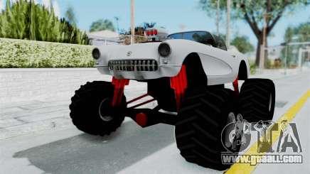 Chevrolet Corvette C1 1962 Monster Truck for GTA San Andreas