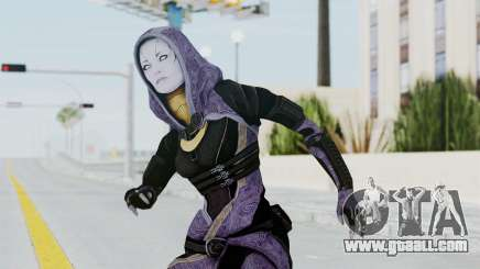 Mass Effect 3 Tali Zorah Unmasked for GTA San Andreas