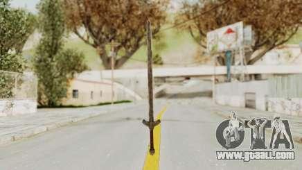 Skyrim Iron Long Sword for GTA San Andreas