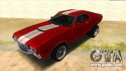 1972 Ford Gran Torino Drag for GTA San Andreas