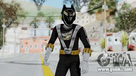 Power Rangers RPM - Black for GTA San Andreas