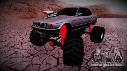 BMW M5 E34 Monster Truck for GTA San Andreas
