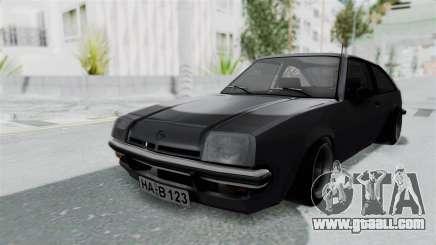 Opel Manta B1 CC for GTA San Andreas
