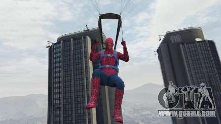 Spiderman for GTA 5
