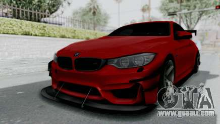 BMW M4 F82 Race Tune for GTA San Andreas