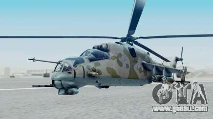Mi-24V Ukraine Air Force 010 for GTA San Andreas