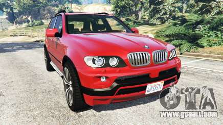 BMW X5 (E53) 2005 for GTA 5