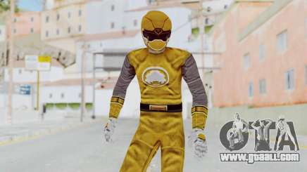 Power Rangers Ninja Storm - Yellow for GTA San Andreas
