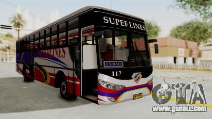 Superlines Ordinary Bus for GTA San Andreas