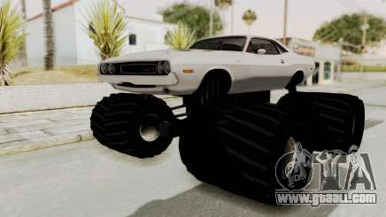 Dodge Challenger 1970 Monster Truck for GTA San Andreas