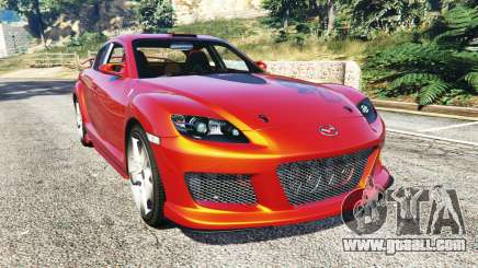 Mazda RX-8 2004 for GTA 5
