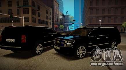 2015 Chevrolet Suburban Prosecutor's Office for GTA San Andreas