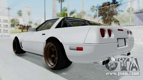 Chevrolet Corvette C4 Drift for GTA San Andreas right view