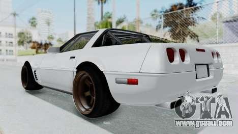 Chevrolet Corvette C4 Drift for GTA San Andreas right view