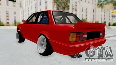 BMW M3 E30 Rocket Bunny Drift Style for GTA San Andreas left view