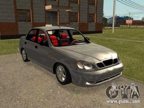 Daewoo Lanos (Sens) 2004 v2.0 by Greedy for GTA San Andreas