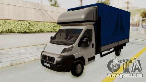 Fiat Ducato Work Van v2 for GTA San Andreas