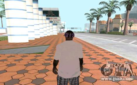Ballas Gang Member for GTA San Andreas second screenshot